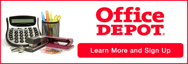 Get Office Depot Savings